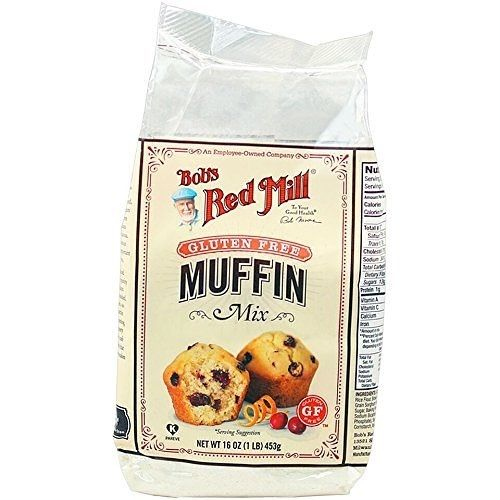 Bob's Red Mill Gluten Free Muffin Mix 16 oz Case of 4