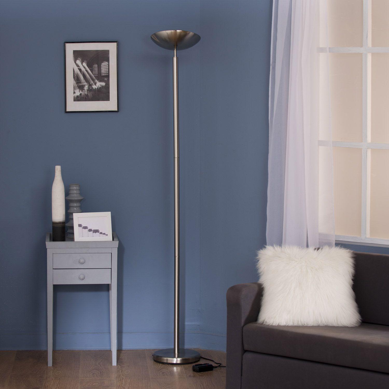 Lampadaire Inox Lampes Pinterest
