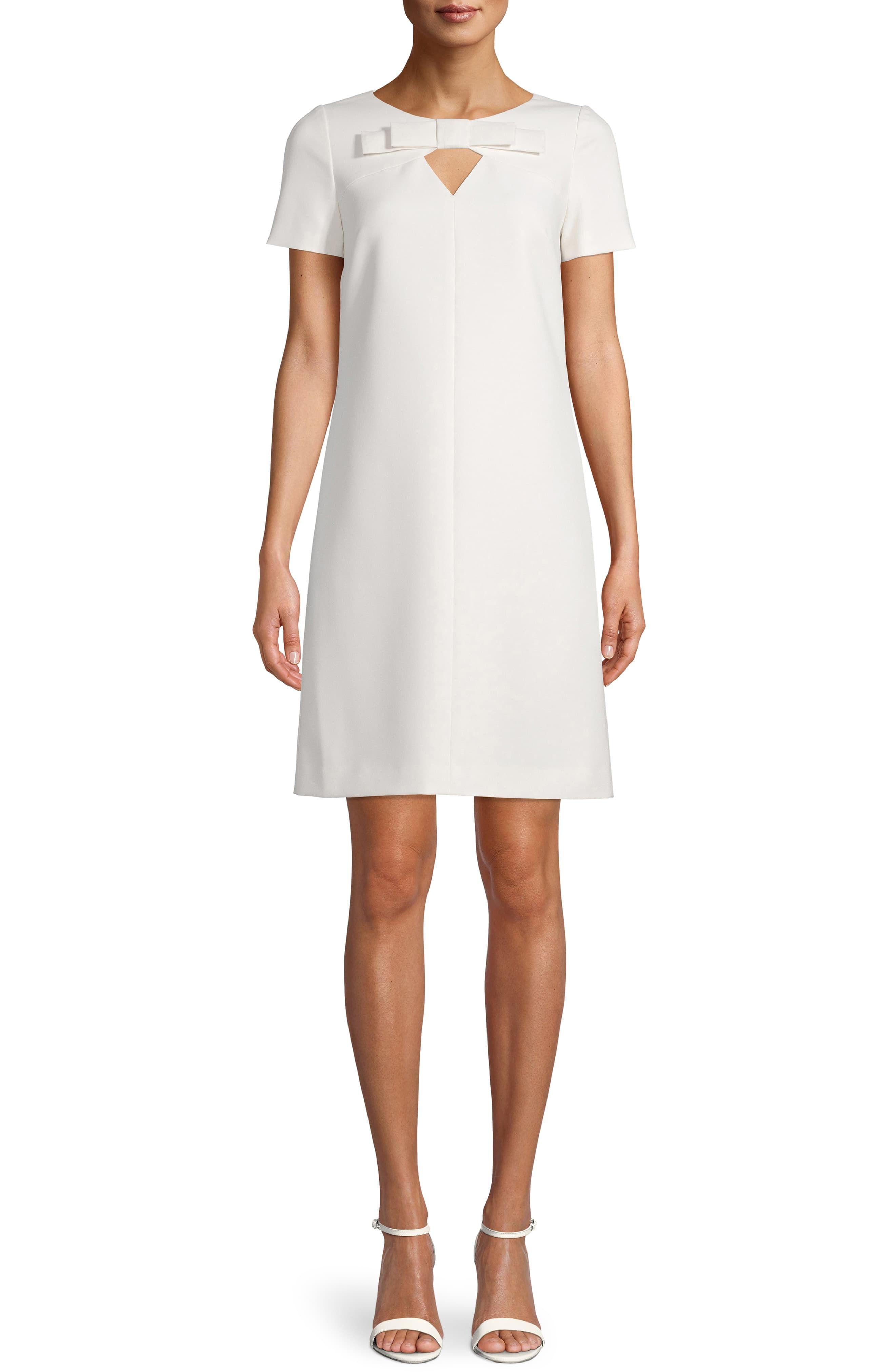 Anne Klein Bow Keyhole Shift Dress Nordstrom In 2021 Short Sleeve Shift Dress Anne Klein Clothing Shift Dress [ 4048 x 2640 Pixel ]