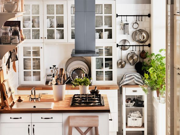 Kleine Küche Ganz Groß   Kücheneinrichtung, Küche Und Wohnen