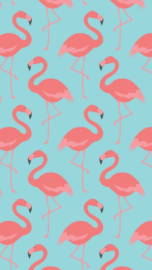 Flamingo pattern tap to see more beautiful iphone wallpapers nature animals birds - Minimalistische mobel ...
