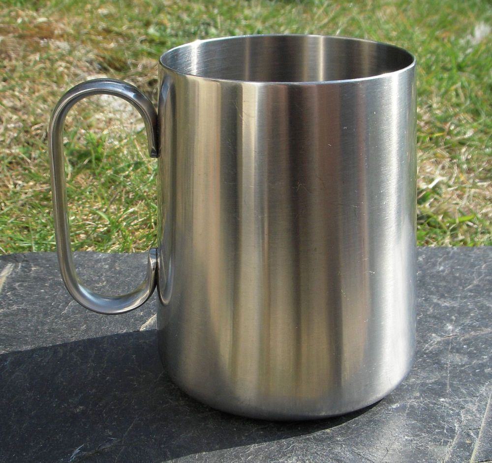 Vintage/Retro Old Hall 18/8 Stainless Steel 1 Pint Tankard - Made in England