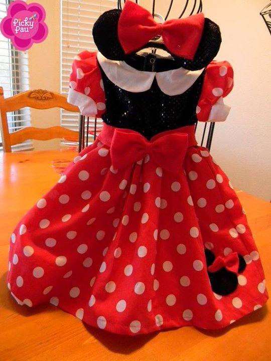 Disfraz Minnie Vestidos Minnie Disfraz De Minnie Niña Y