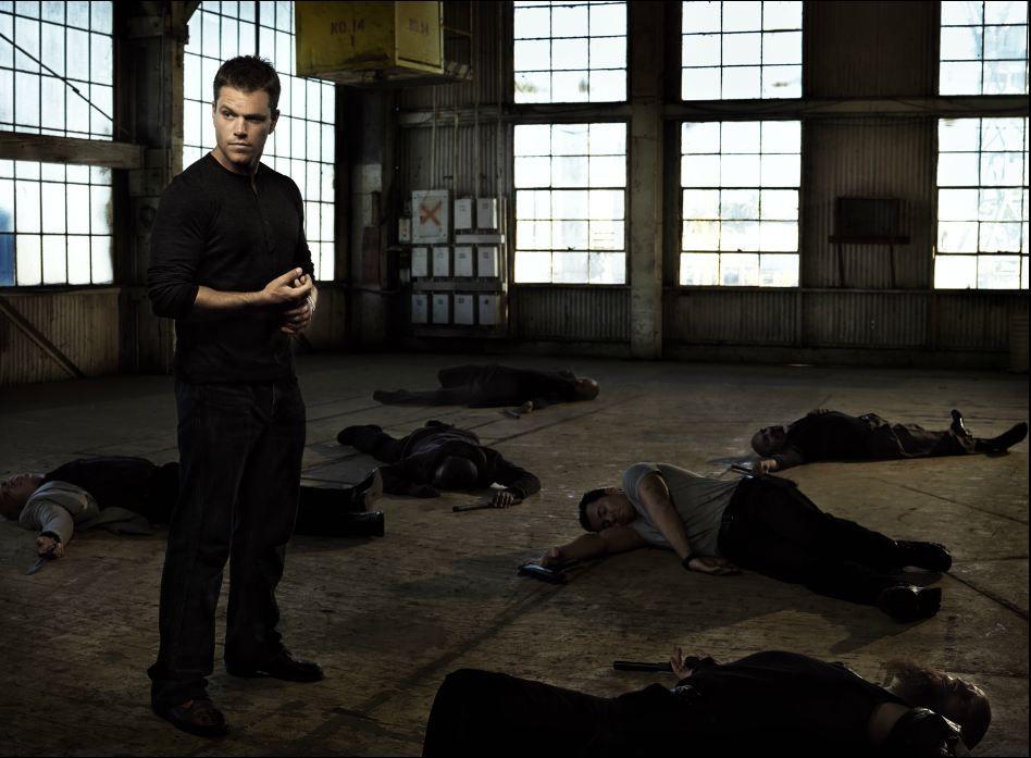 Matt Damon por Justin Stephens