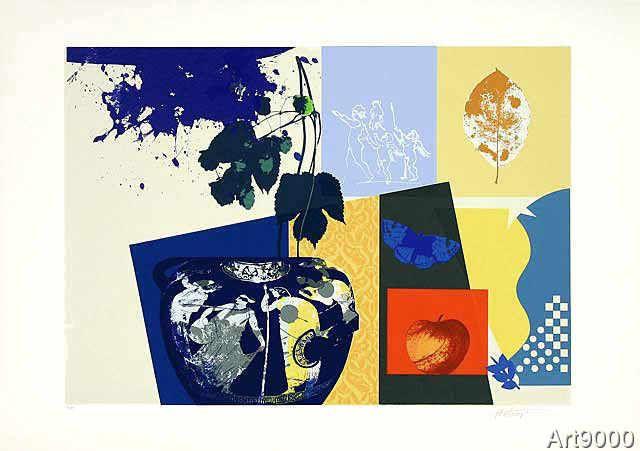 Hassan Hashemi - Blauer Falter