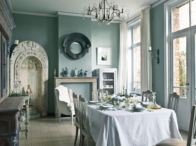 lovely (con immagini)   Camere shabby chic, Sala da pranzo ...
