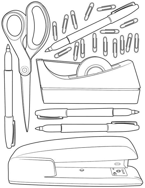 Pin de marjolaine grange en coloriage objets et accessoires   Pinterest