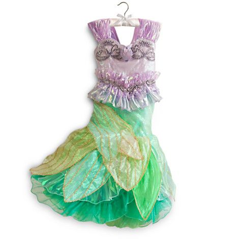 Ariel Costume for Girls - Limited Edition | Costumes & Costume ...