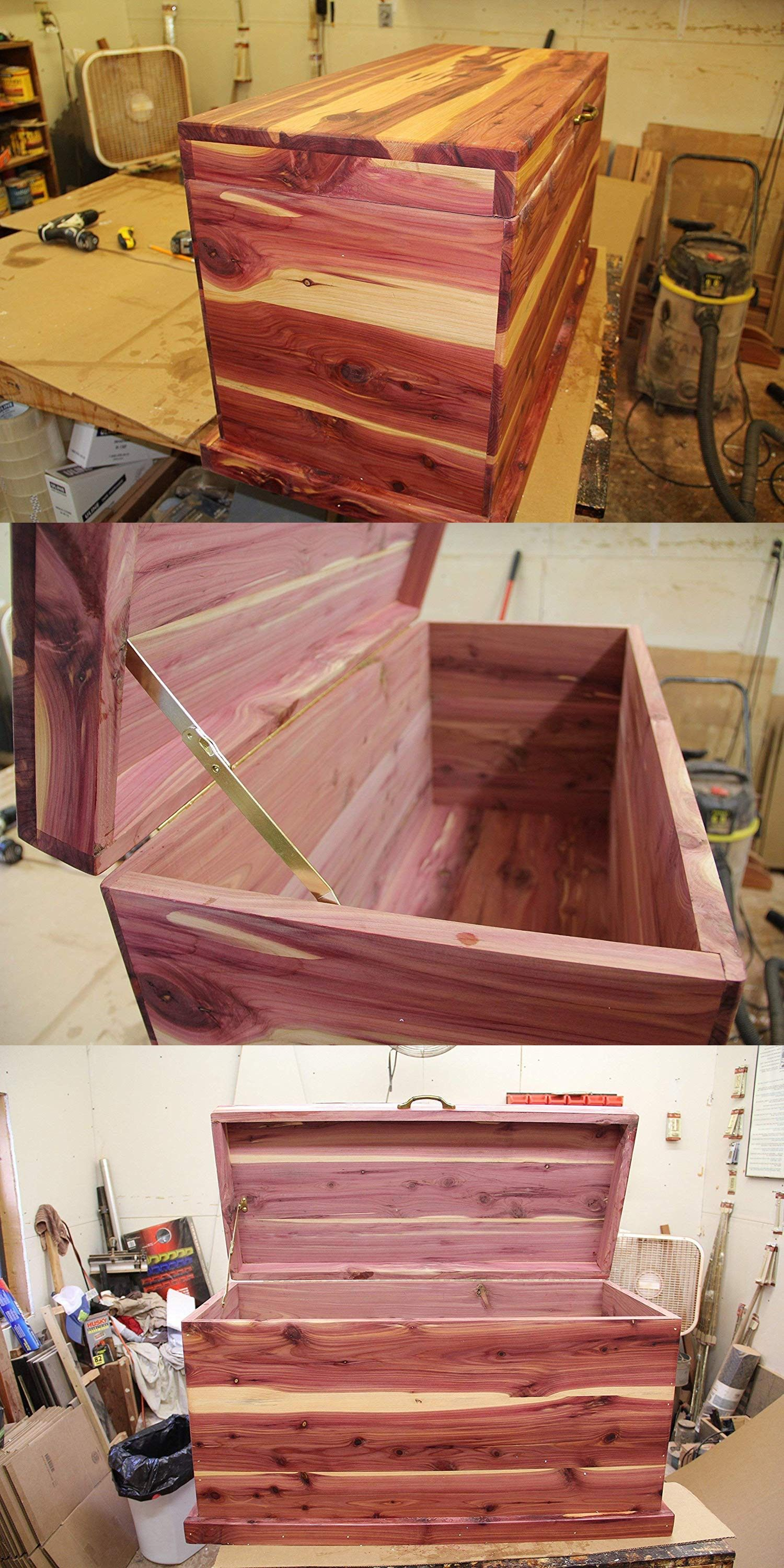 Cedar chest hope chest blanket box bedroom furniture toy chest