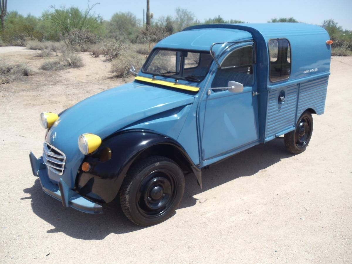 1967 Citroen 2CV 2 C V Truckette for sale Hemmings Motor
