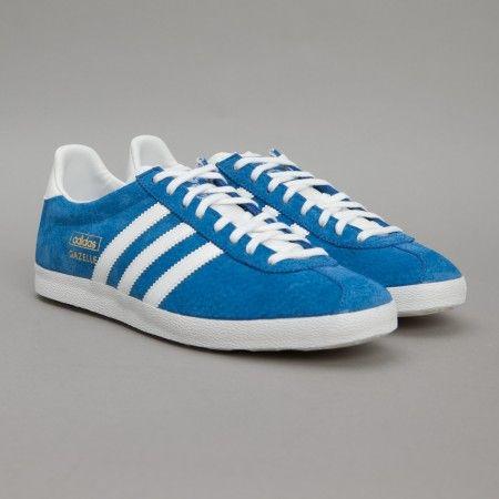 adidas Gazelle OG (Air Force Blue) | Oi Polloi | Adidas gazelle ...