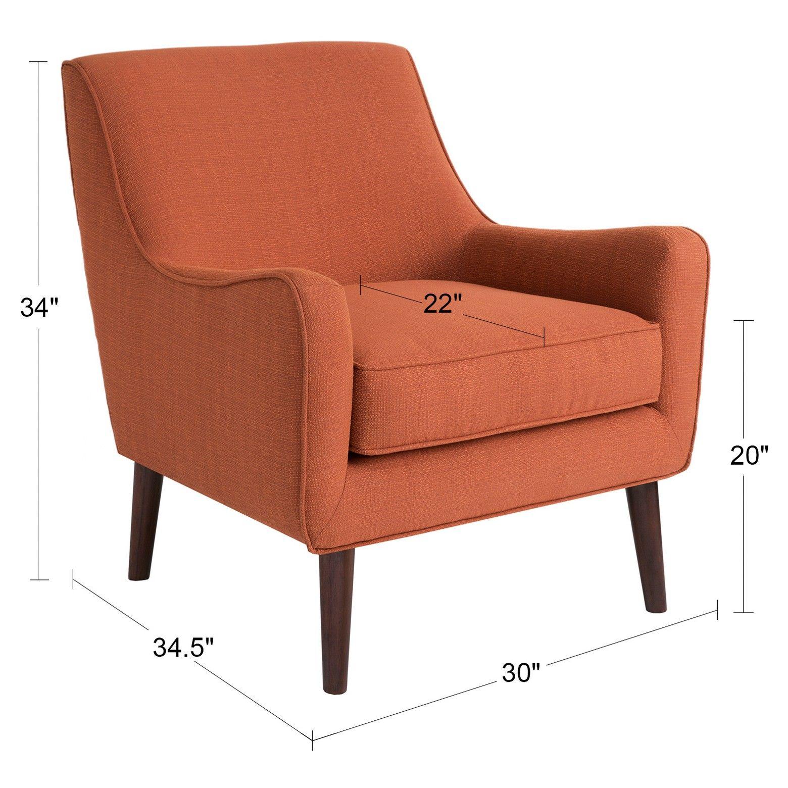 Nathan Chair Mid Century Accent Chair Armchair Furniture
