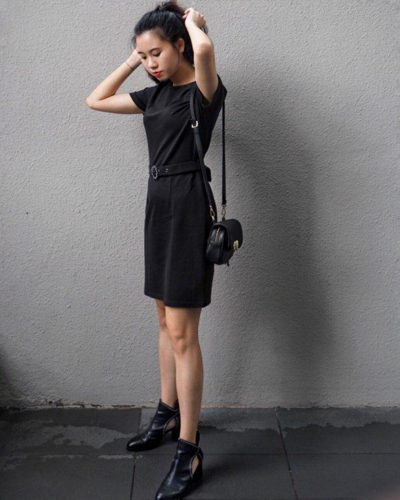 Ankle Boots Little Black Dress Work Dress Black Dress Style Little Black Dress [ 1024 x 819 Pixel ]