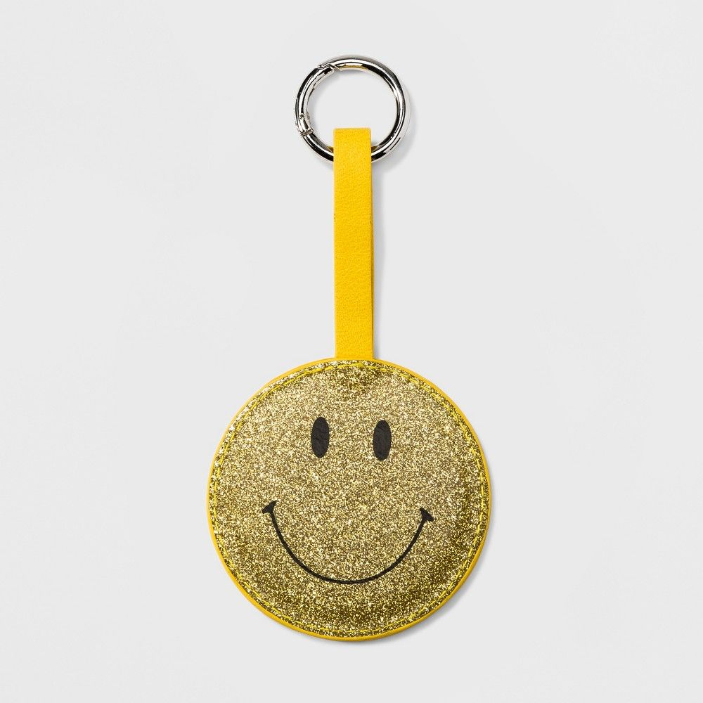 Women s Smiley Face Mirror Keychain - Wild Fable Yellow  5d5610cf5