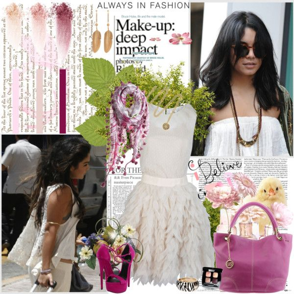 """""""Vanessa Hudgens in Katie Costello"""" by k-hearts-a on Polyvore"""