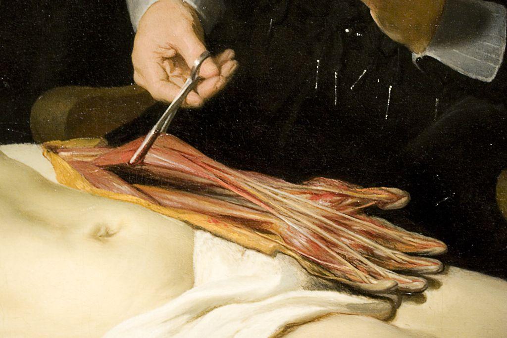 Detail from Rembrandt van Rijn \