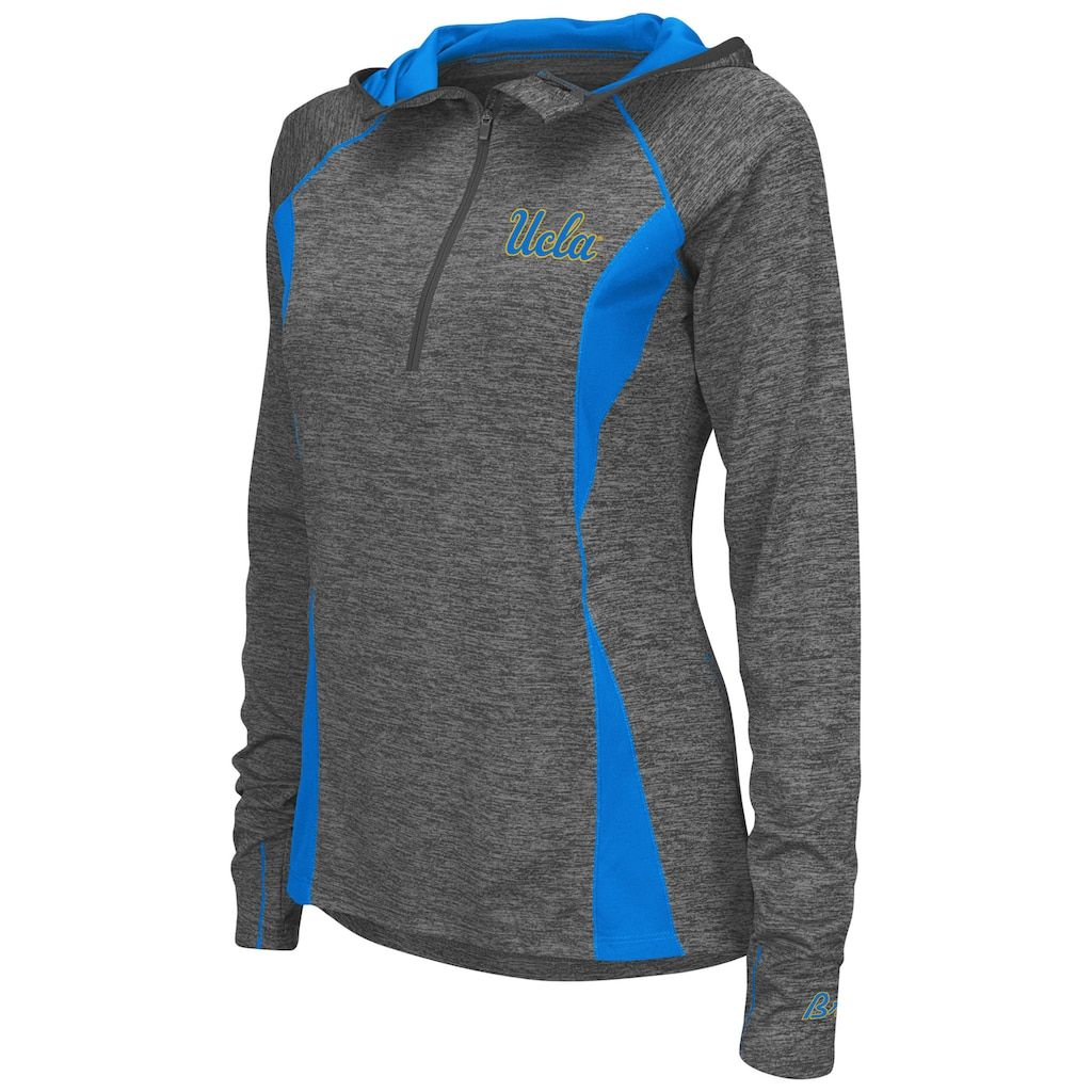 Women s Campus Heritage UCLA Bruins Money Quarter-Zip Top  3d8160ae92