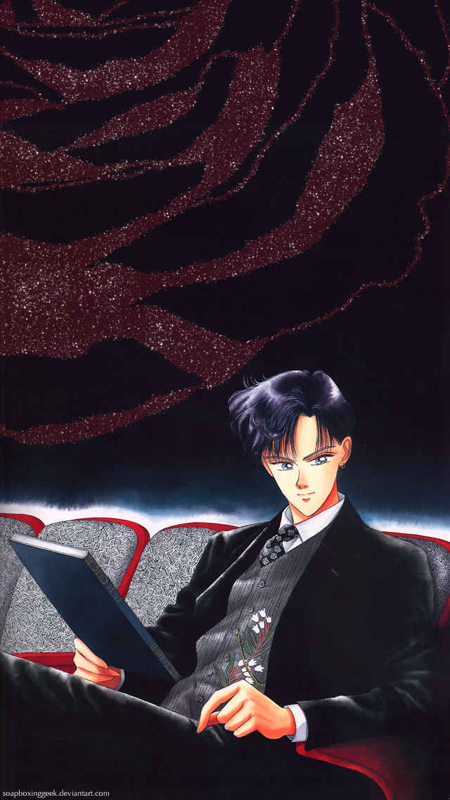 Mamoru In The Theatre Ios Wallpaper By Soapboxinggeek Sailor