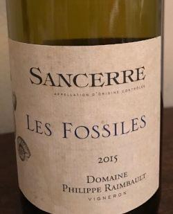 Les Fossiles Domaine Philippe Raimbault Sancerre 2015