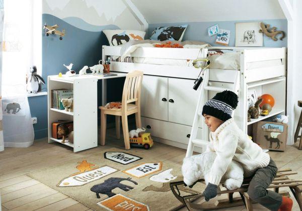 Nice kinderzimmer gestalten jungen sch ne deko toller teppich