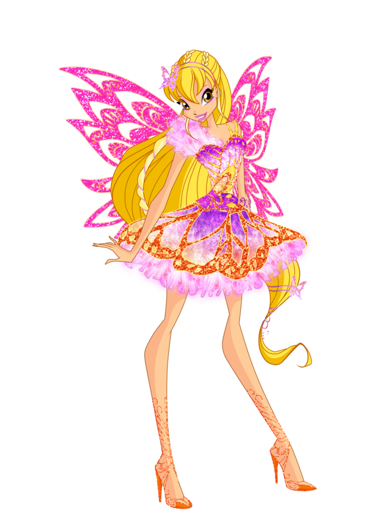Stella butterflix winx club dessin anim - Bloom dessin anime ...