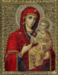 religious icon art quilts