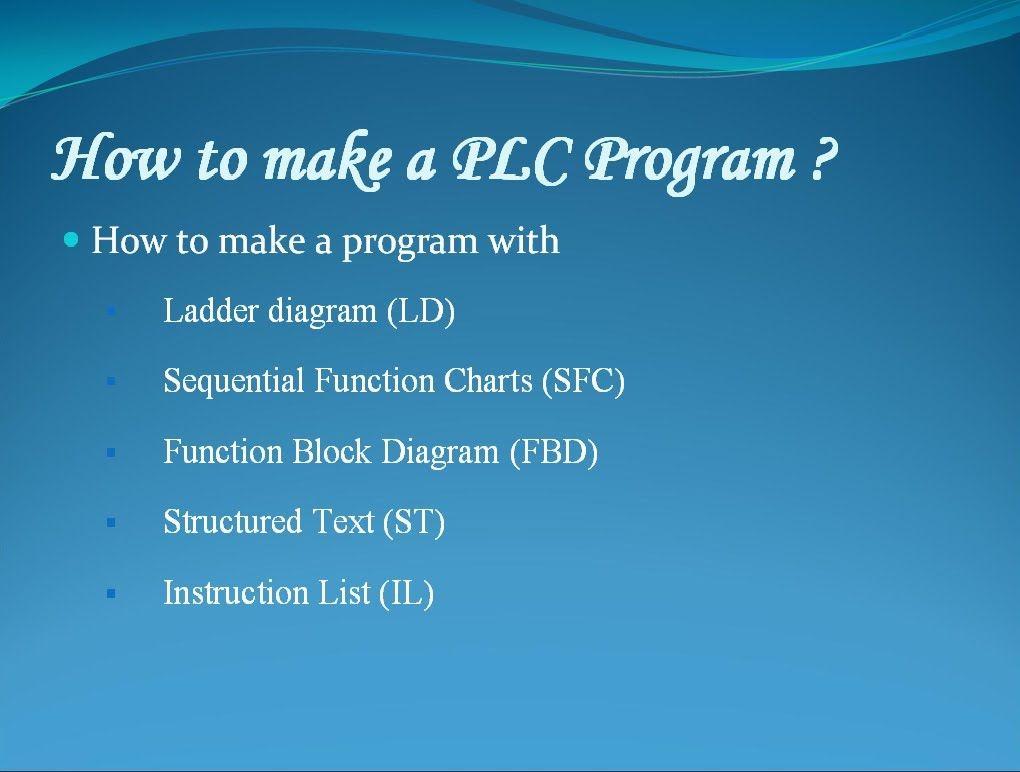 how to make a plc program logo plc siemens model no 230rc
