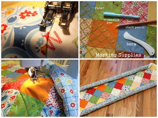 Diary of a Quilter - a quilt blog: Intro to Quilting 101--really great article for noobs like me.