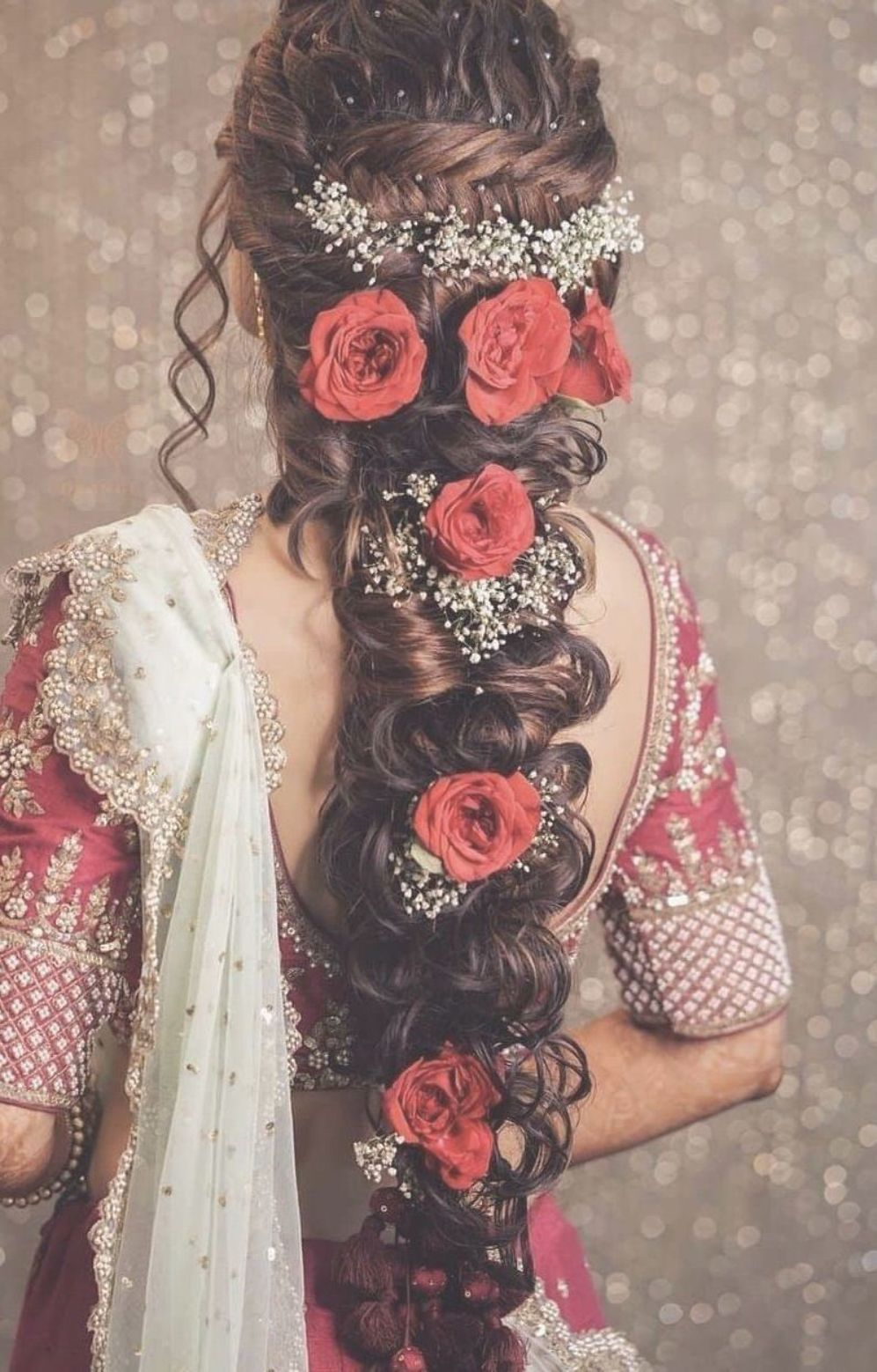 Bridalhairstyles Hairstyles2019 Hairstyles Beautiful Hairstyle Bridal Design Beautiful Brid Hair Styles Engagement Hairstyles Indian Wedding Hairstyles
