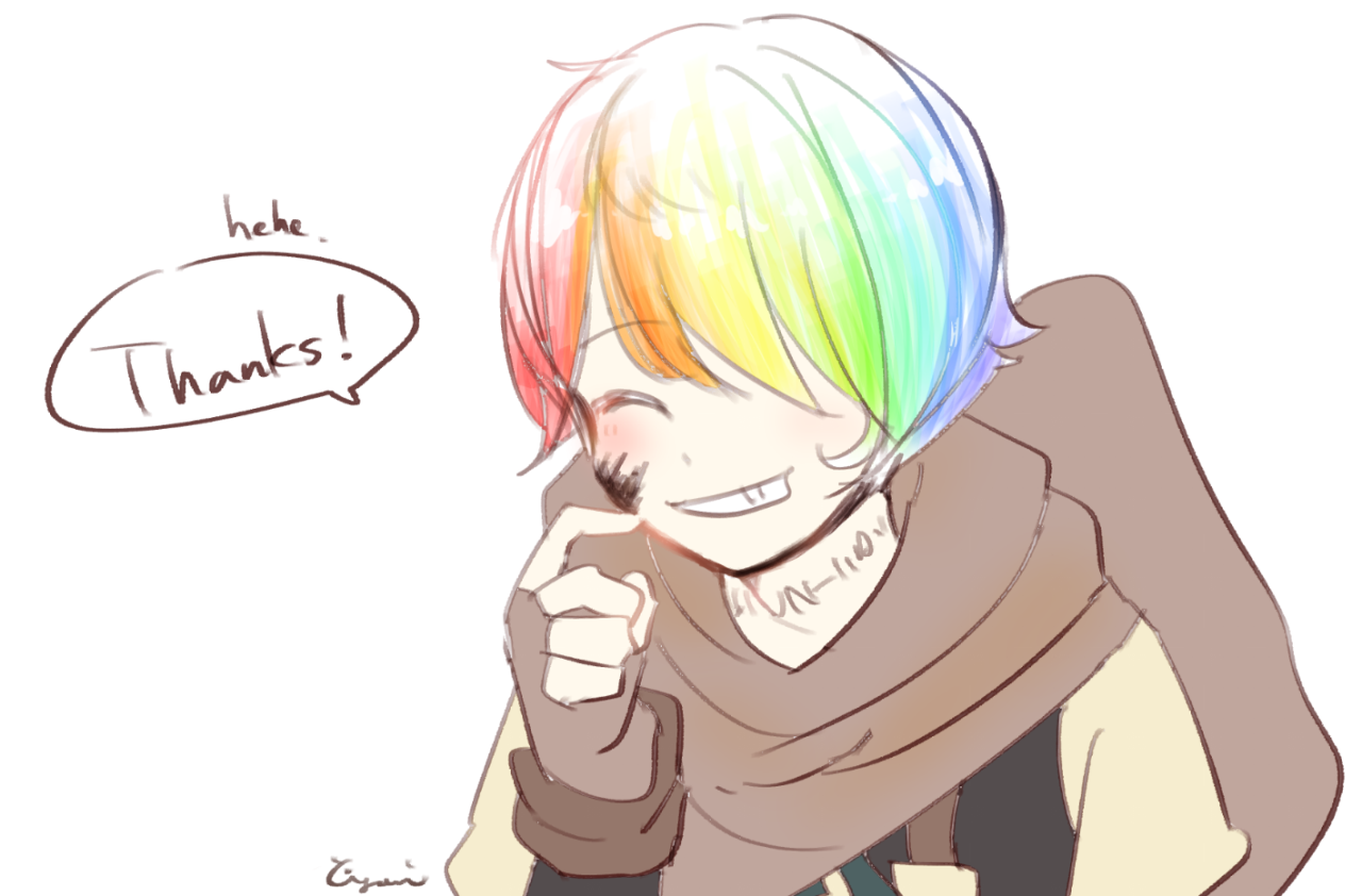 Ink sans in human is so cute ♡♡♡♡♡   undertale and au's