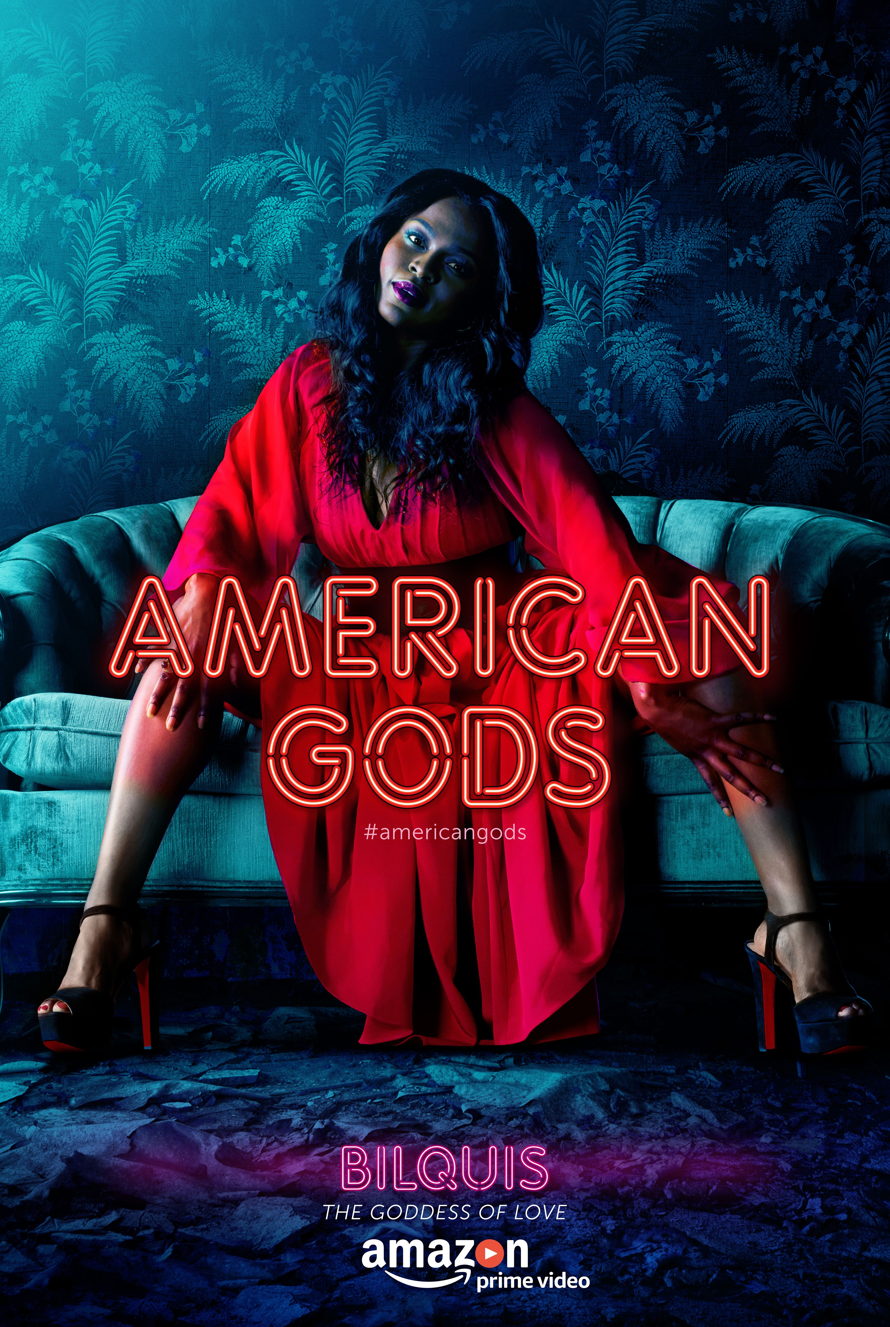 American Gods S1 Yetide Badaki As Bilquis American Gods The Graveyard Book Geek Movies