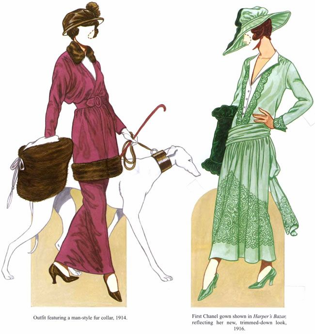 Dover - Chanel Fashion Review Paper Dolls