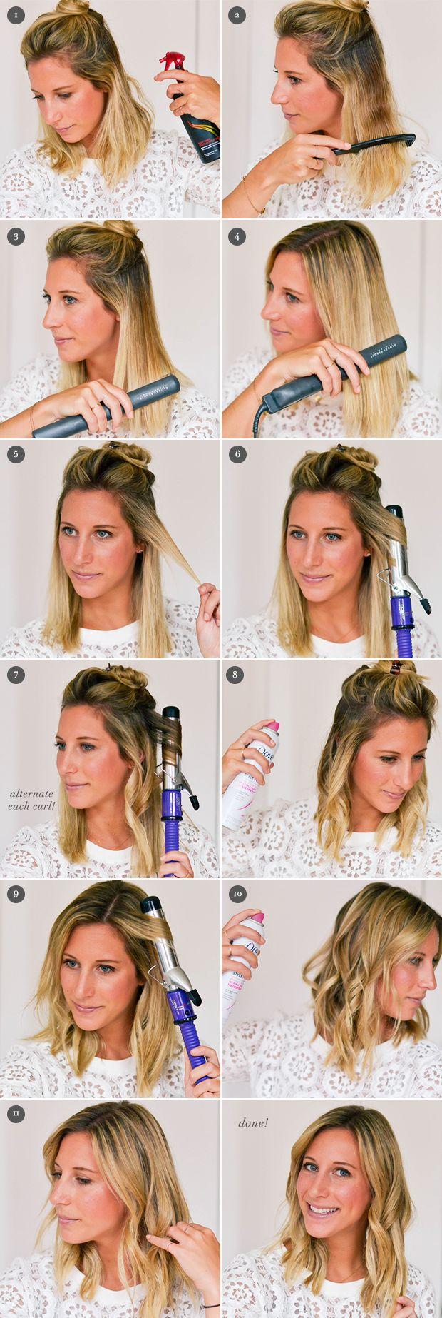 How To Piecey Waves Beach Wave Hair Wavy Hairstyles Tutorial Waves Hair Tutorial