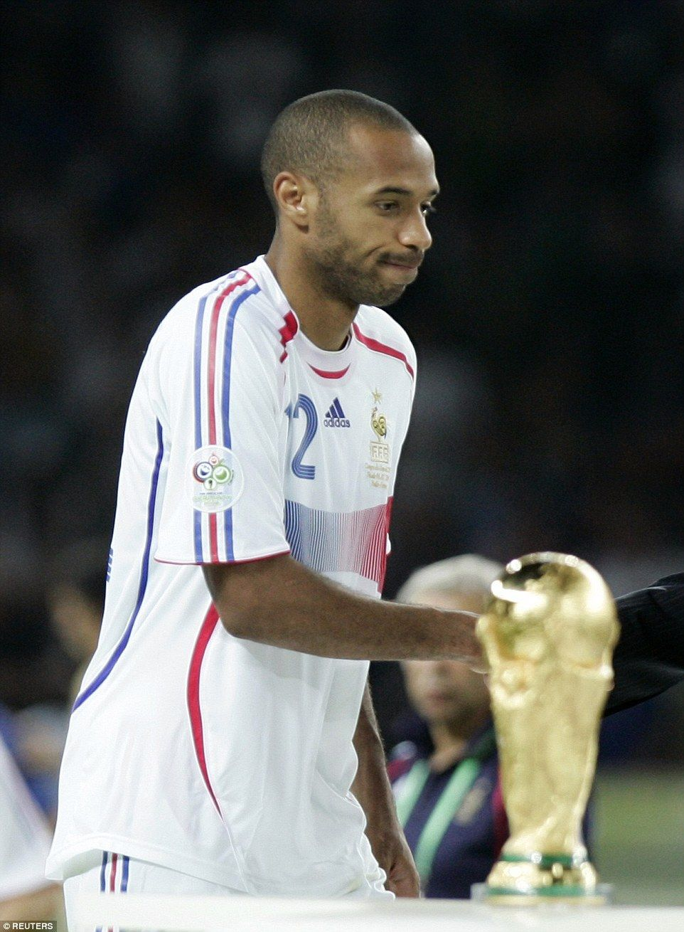 8d6505420 But there wouldn t be a second World Cup triumph to add to Henry s CV in  2006 as they were beaten on penalties by Italy in the final
