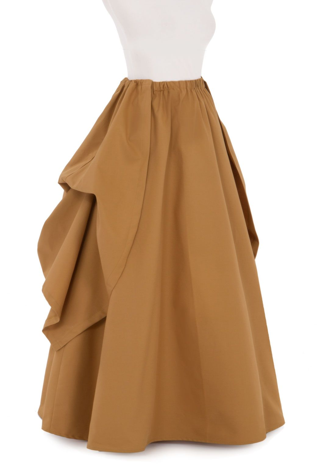 5af37a493 Twill Victorian Style Skirt and Overskirt in Black. Underskirt has elastic  waist, Overskirt has drawstring.