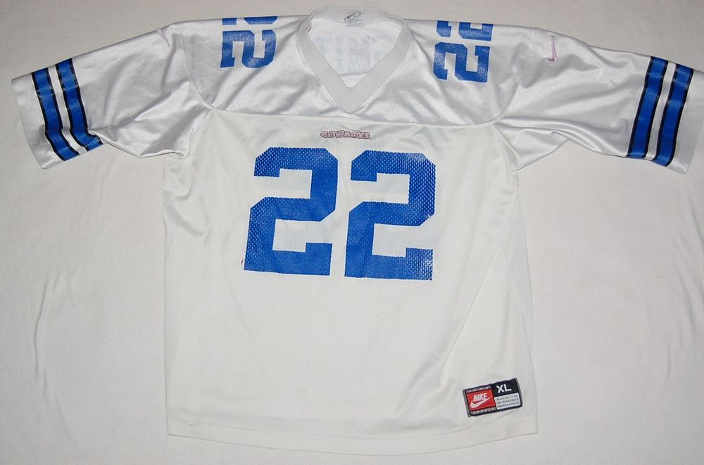 Emmitt Smith  22 Mens white Dallas Cowboys NIKE retro NFL football jersey 48  XL   30.00 End Date  Tuesday Dec-18-2018 18 33 04 PST Buy It… 357469753