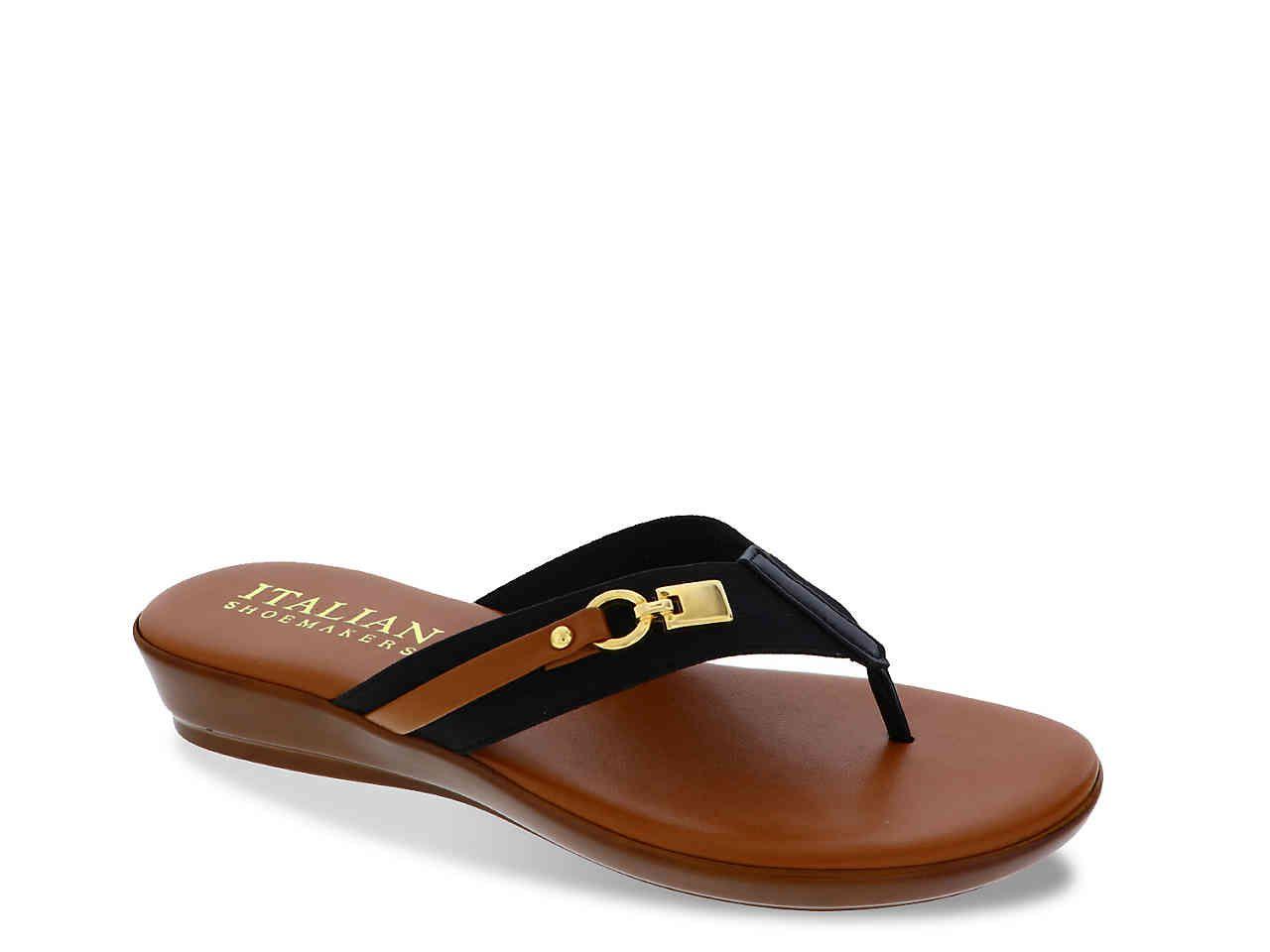 5f71db2ee8cc Italian Shoemakers Vale Wedge Sandal Women s Shoes