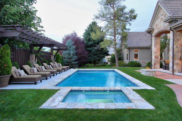 Backyard Pool and Pergola of Utah Designer Christopher ...