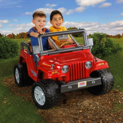 Power Wheels Jeep Sub Sub Wrangler Rubicon Brandspowerwheels Fisher Price Red Jeep Power Wheels Jeep Power Wheels