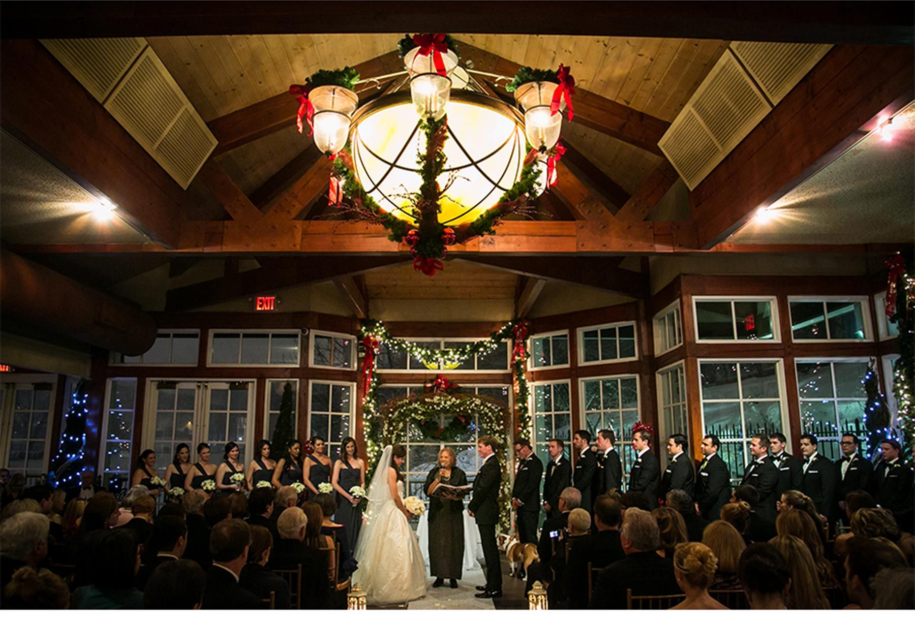 Winter Wedding at The Loeb Boathouse Central Park - Be inspired by ...