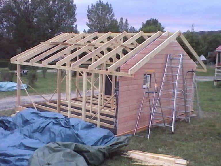 Fabriquer Son Garage En Bois Construire Ossature Soi Meme Garage Bois Construire Un Garage Plans De Construction