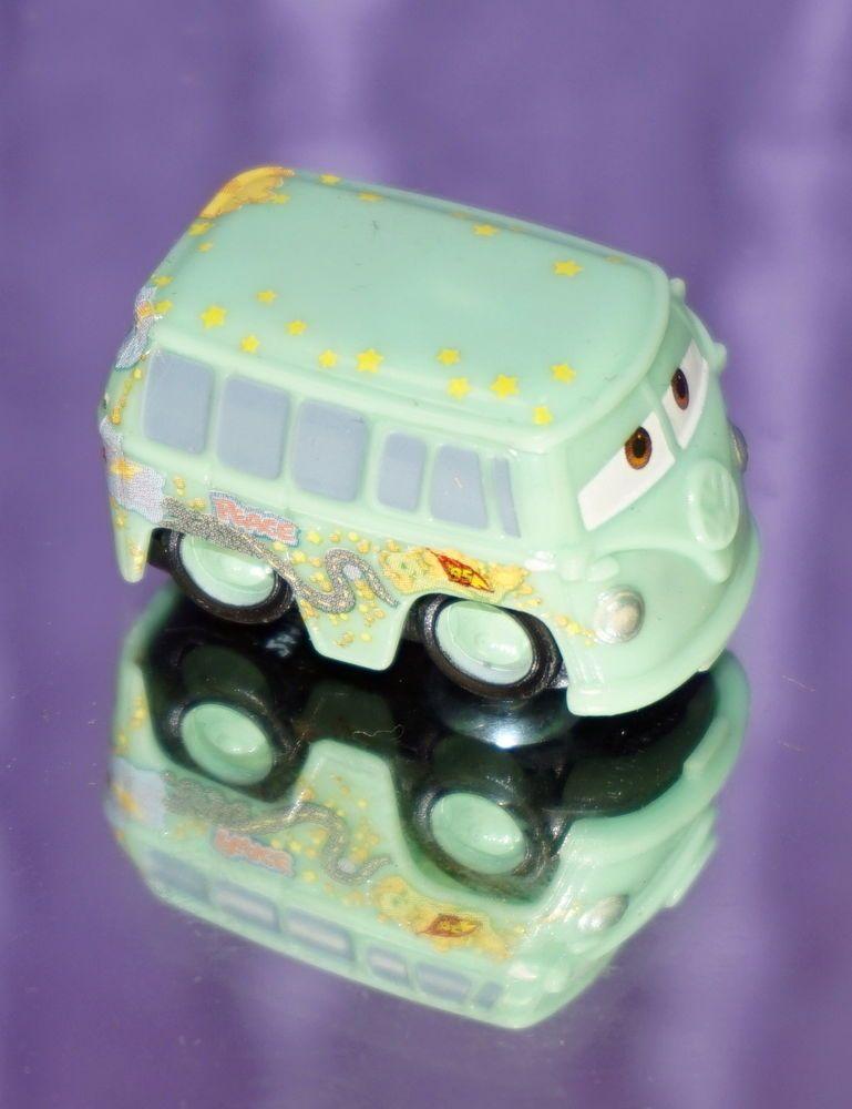 2014 DISNEY PIXAR CAR MICRO DRIFTERS RACE TEAM FILMORE NEW LOOSE MINT #Mattel