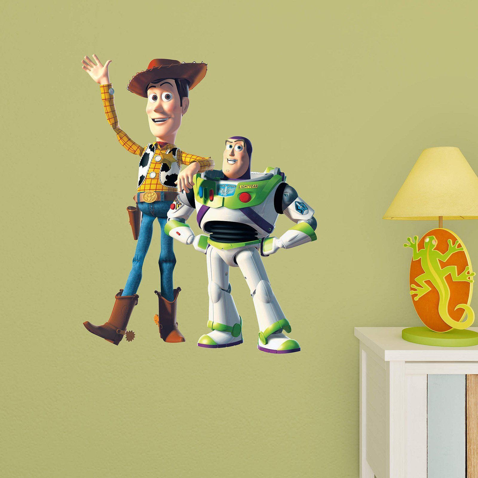 Fathead Toy Story Woody and Buzz Junior Wall Decal - 15-15991 ...