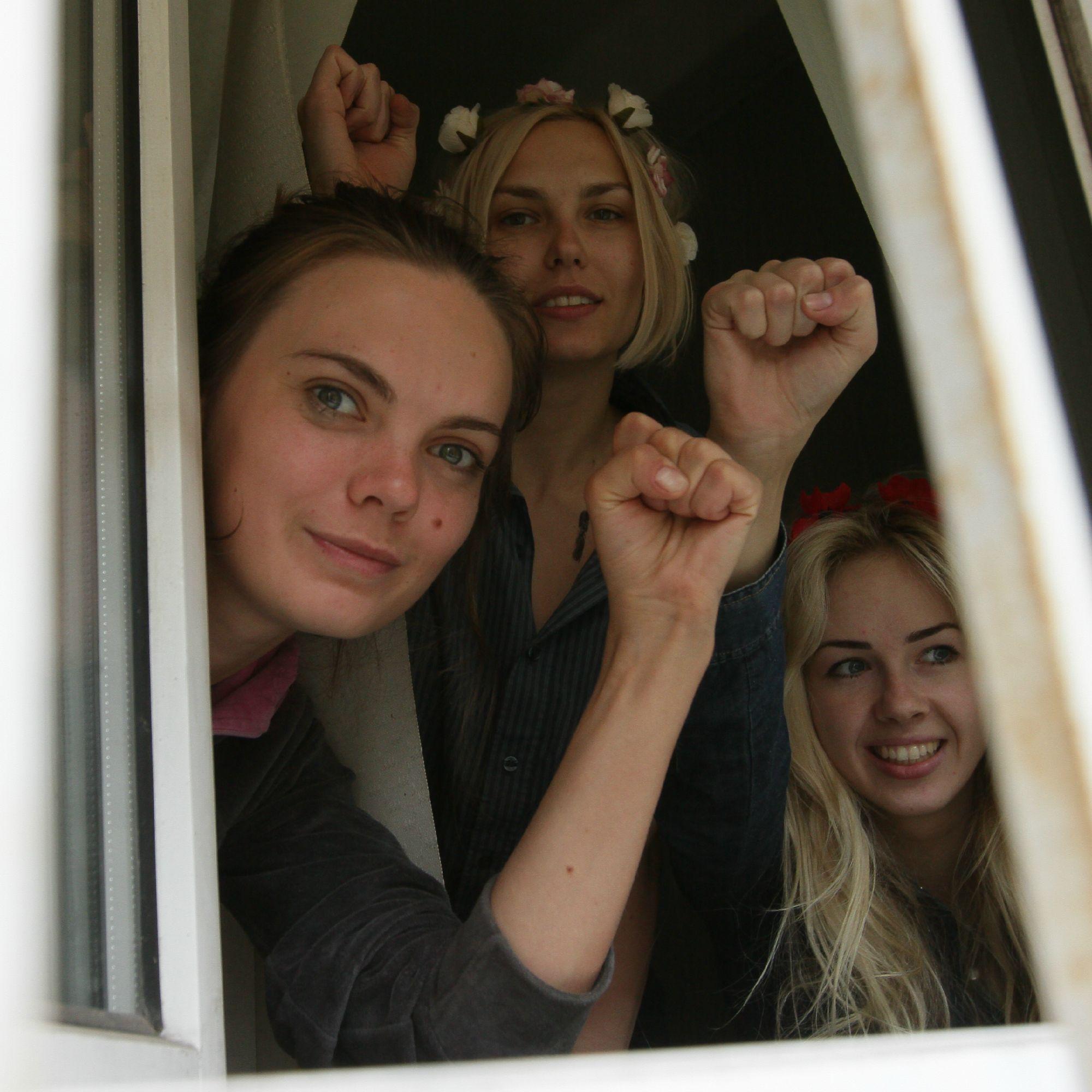 Женское движение #FEMEN приняло решение о сворачивании ...