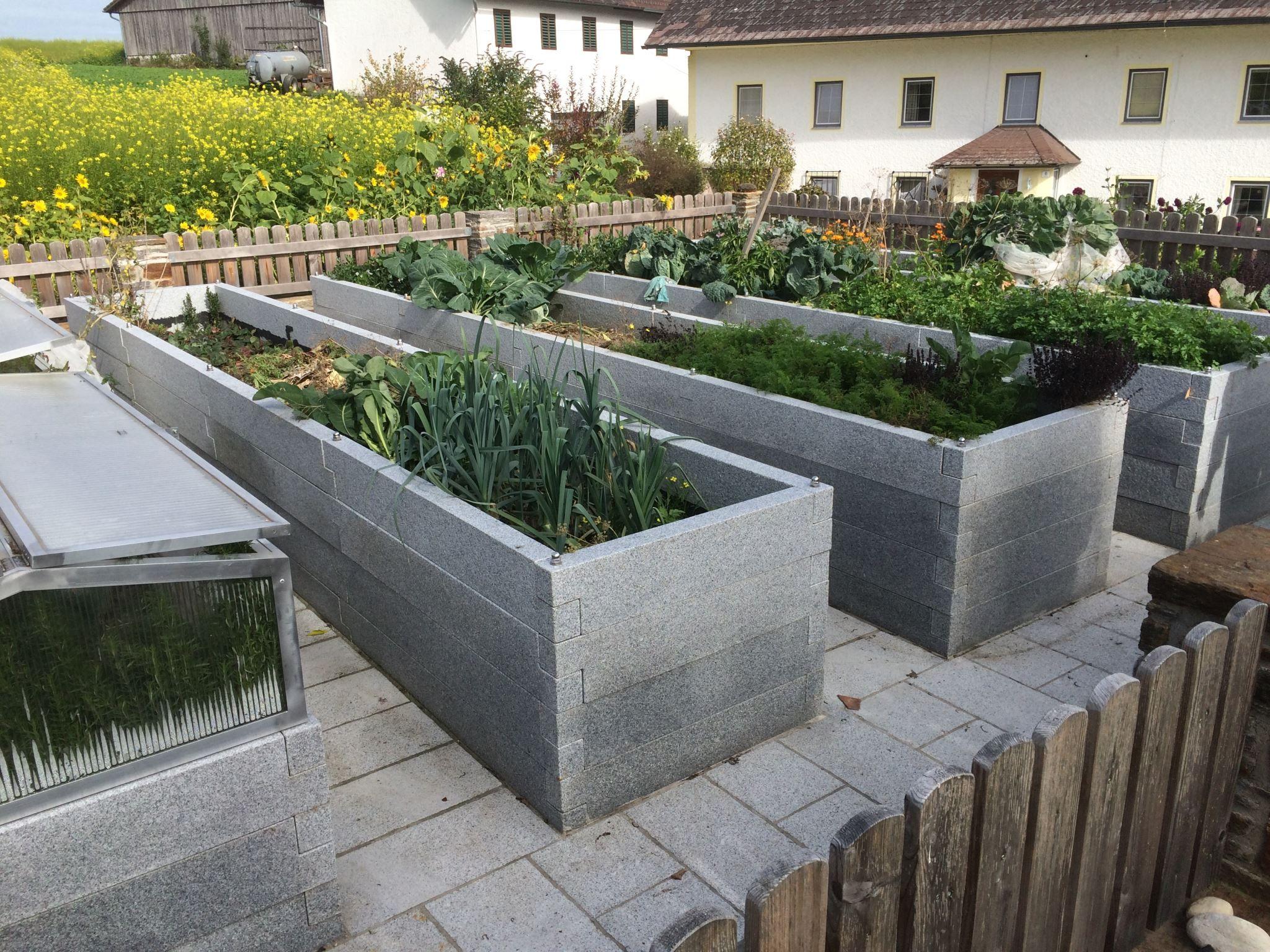 Hochbeet Crystall Grey 100 20 8 Cm Stein Co Hochbeet Garten Hochbeet Gartengestaltung