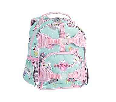 3e48f51eaaa3 Mackenzie Aqua Pink Princess Kitty Backpacks
