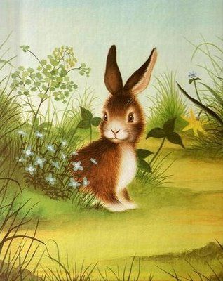 Home for a Bunny by Margaret Wise Brown. Illustrations by Garth Williams.  1961 (almost 60 years old, but … | Good morning cards, Garth williams, Good  morning images