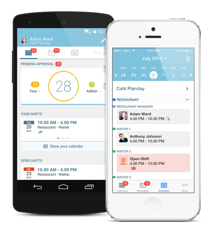New Planday app makes mobile scheduling smarter