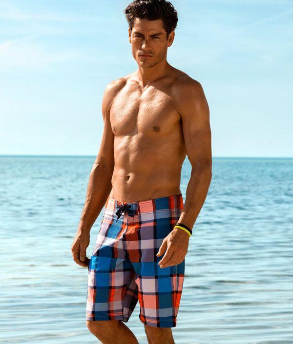 f0e52ab05e Tyson Ballou Hits the Beach in H&M Swimwear   swimwear men   H m ...