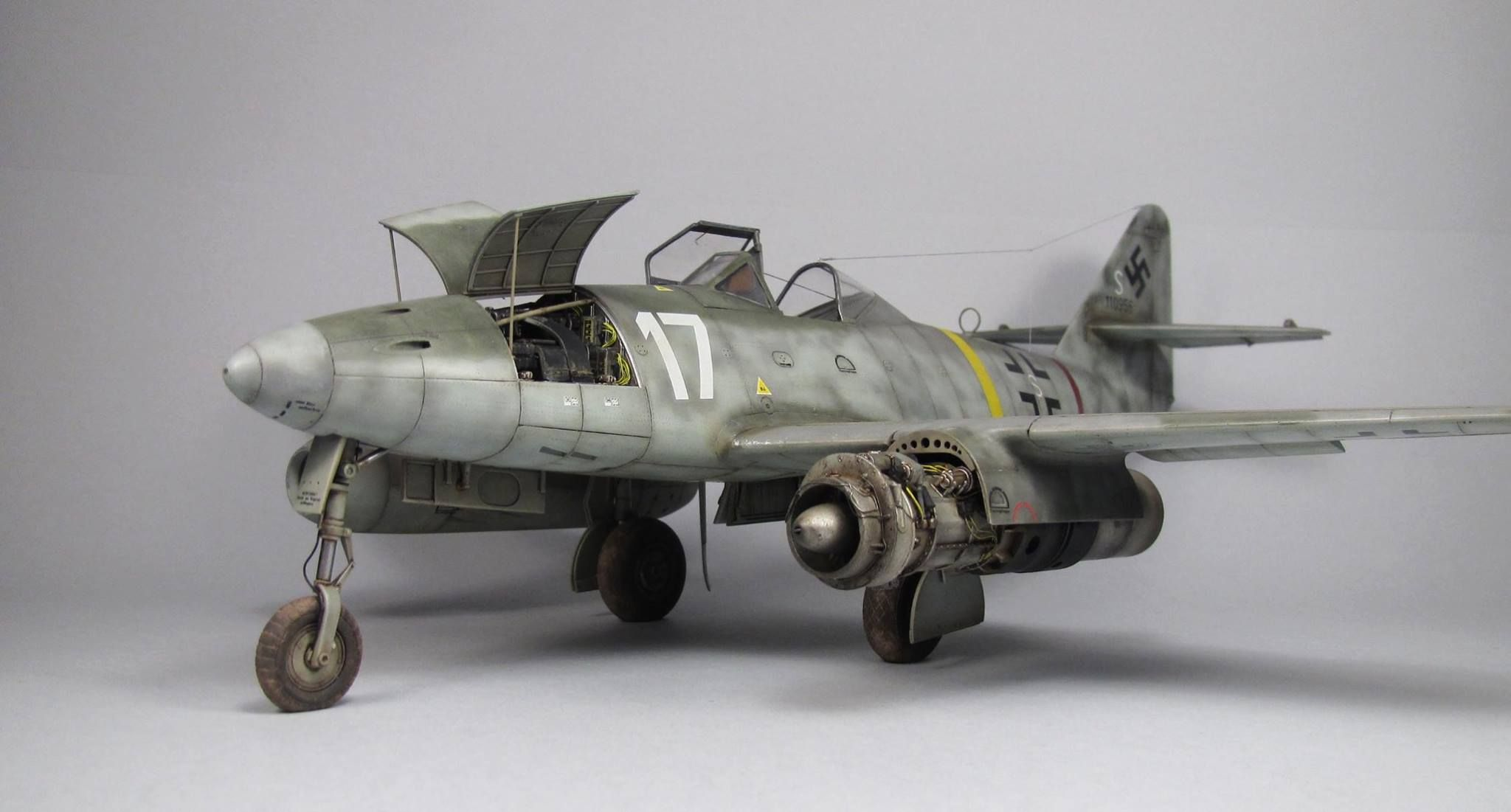 Me 262a 1a Trumpeter 1 32 Mod Bera Karoly Military Modelling Scale Models Perfect Model